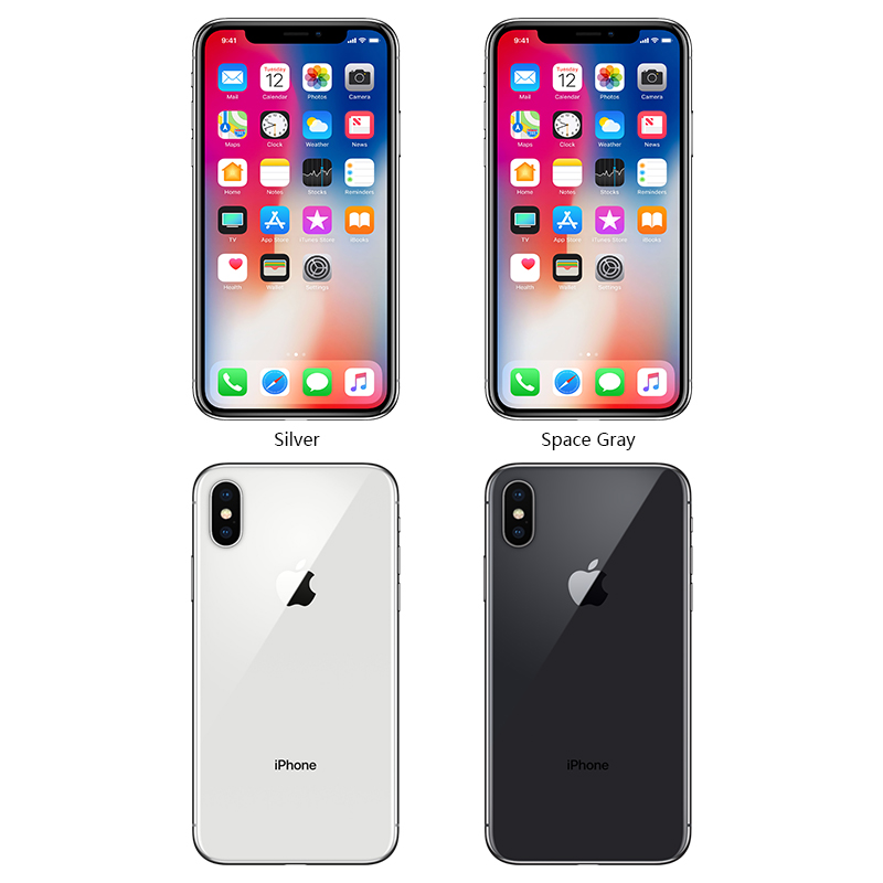 Image 3 - Original Unlocked Apple iPhone X Face ID 64GB/256GB ROM 3GB RAM 5.8 inch Hexa Core iOS A11 12MP Dual Back Camera 4G LTE-in Cellphones from Cellphones & Telecommunications