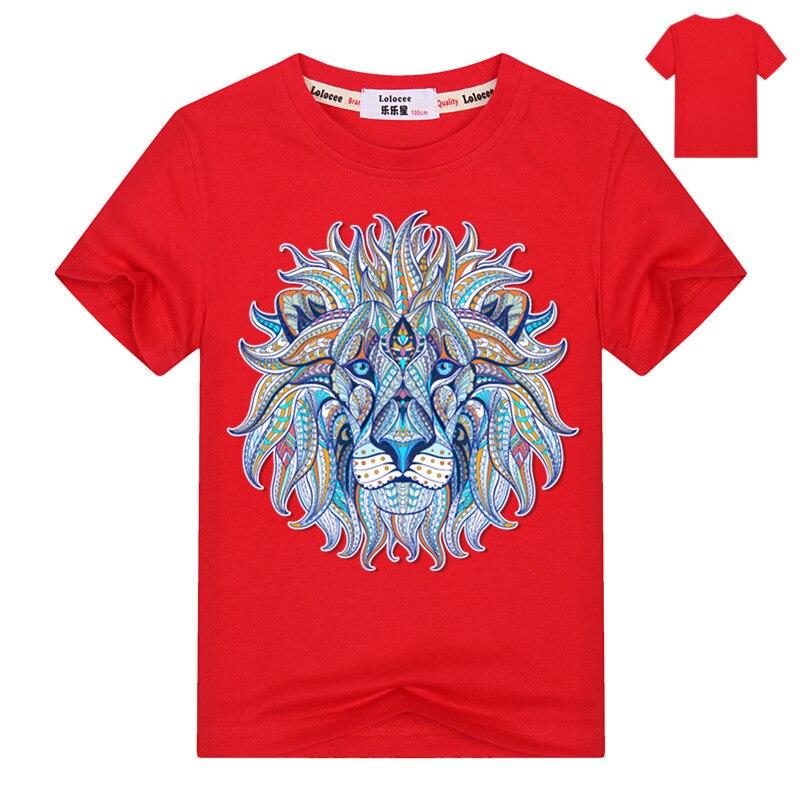100% Wahr Neue Mode Kinder 3d T-shirt Lustig Druck Bunte Haar Lion King Sommer Kühlen T Hemd Straße Tragen Tops Tees Für Mädchen Jungen Reinigen Der MundhöHle.