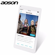 AOSON M106NB 10.1 Inch Tablet PC MTK8127 1280*800 IPS Screen 2MP 5MP Dual Camera Quad Core 1GB RAM 8GB ROM Android 4.4 6000mAh