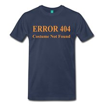 2017 casual popular Error 404 Costume Not Found Men's Premium T-Shirt 100% cotton male tops tee hot sell fashion O-Neck T Shirt
