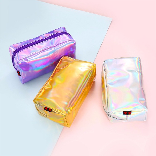 Holographic Style Makeup Bag