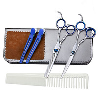 6 Inches Beauty Salon Cutting Thinning Hair Shears Barbershop Styling Tools Professional Hairdressing Scissors Set