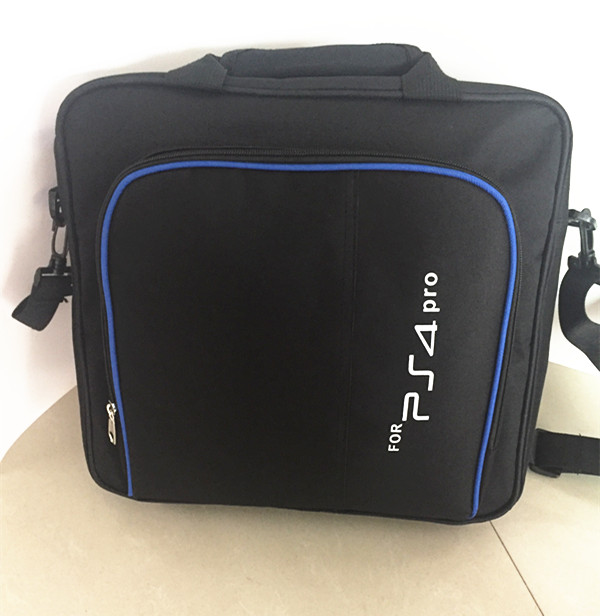 Купить с кэшбэком PS4 PRO Carry Bag Storage Travel Protect Case Handbag Shoulder Bag+Charger Dock Station Stand For Sony Playstation 4 Pro PS4 Pro