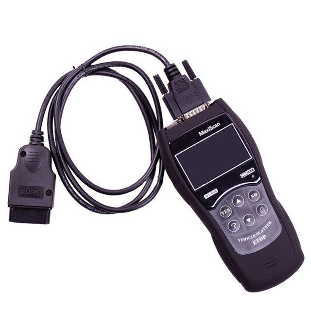 Strumento di diagnostica Vgate VS890 Auto Lettore di Codice di MaxiScan VS890 OBD2 Scanner Supporto Multi Brand Cars Trasporto Libero