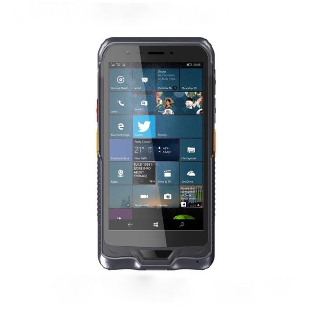 Terminal portátil PDA Coletor de Dados 4G lte ip67 Telefone À Prova D' Água Tablet PC robusto 1D Barcode Scanner A Laser 2D Android 5.1 NFC
