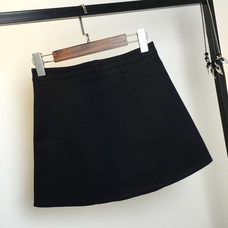HTB1wa4iMFXXXXXmXpXXq6xXFXXXS - American Apparel button Denim Skirt JKP265