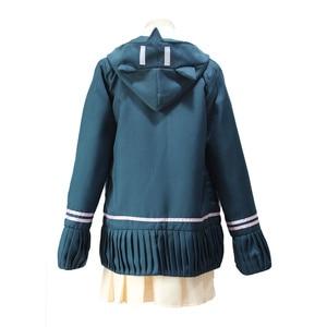Image 2 - DanganRonpa קוספליי צ יאקי Nanami Cosplay תלבושות פאות סופר Dangan Ronpa מדים לנשים
