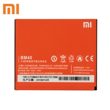 Xiao Mi Xiaomi BM40 Phone Battery For mi 2A Redmi 1S 2 Redmi2 Redmi1S 2080mAh Original Replacement