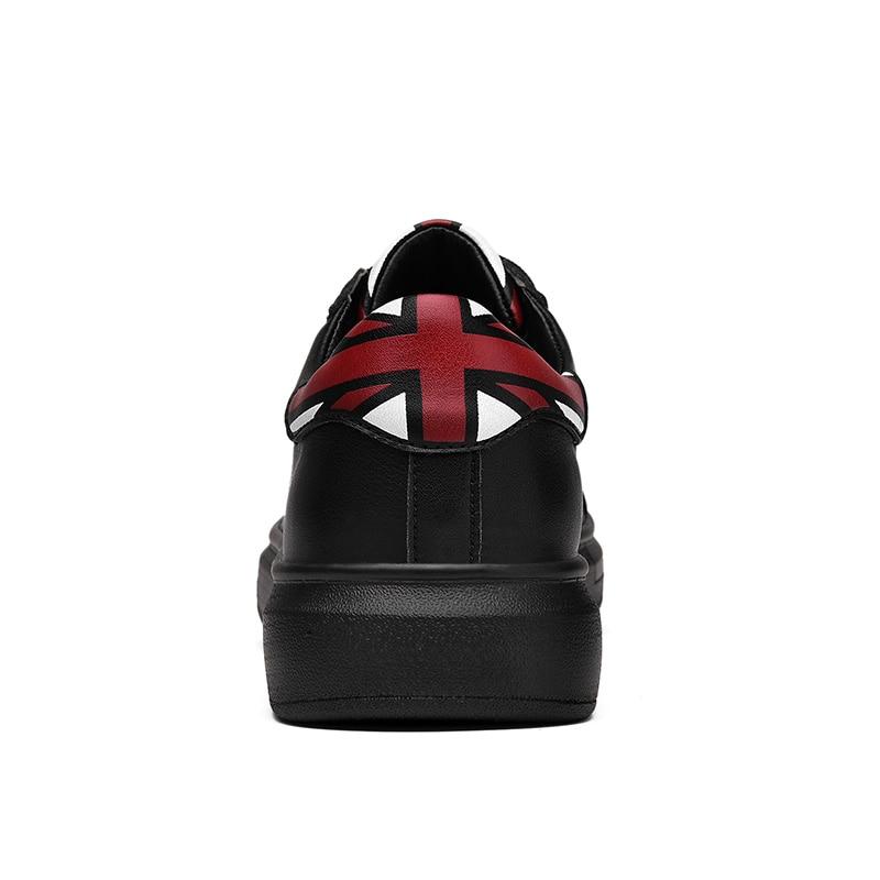 SUROM Heren Schoenen Volwassenen Veterschoenen Mode Sneakers - Herenschoenen - Foto 4