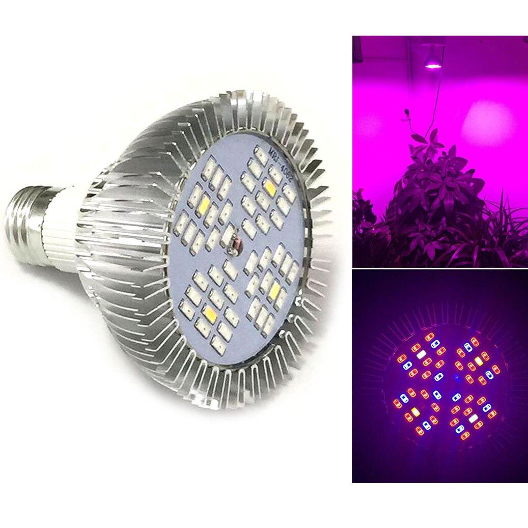 House Plant Grow Light: Full Spectrum 48 Led Plant Grow Light Growing Lights For