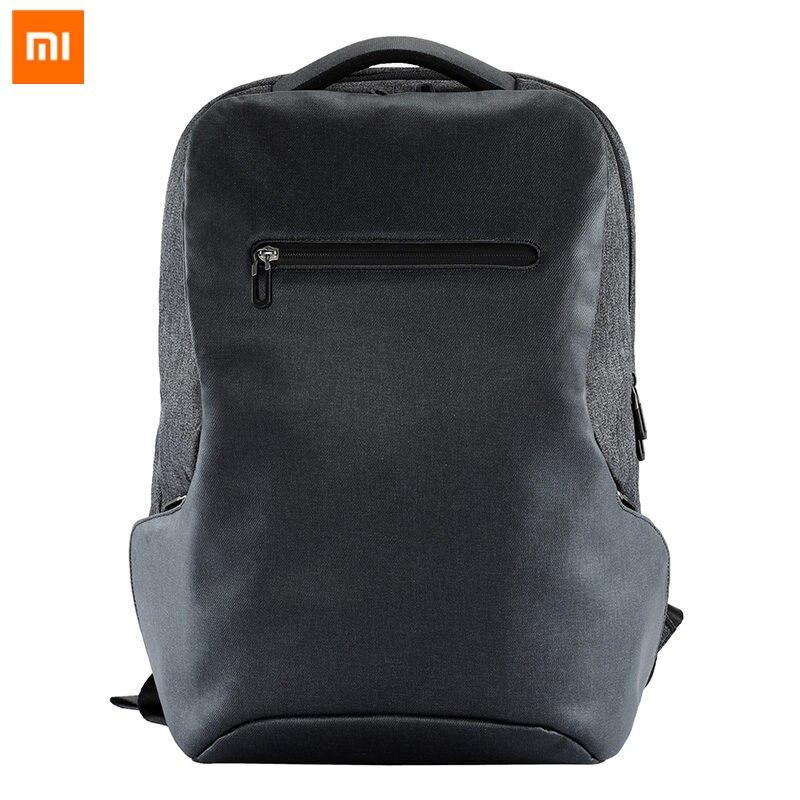 Original Xiao mi mi Mochilas de Negócios Multi-funcional 26L Zangão 15.6 Polegada Escola Grande Saco De Viagem Capacidade Para mi escritório Laptop
