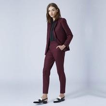 New Grape womens business suits 2 piece blazer set slim fit