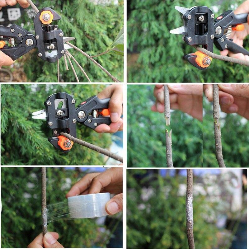 Garden Farming Pruning Shears Scissor Fruit Tree Grafting Gardening Tools Vaccination Secateurs Pruning Cutting Shears Tool in Pruning Tools from Tools