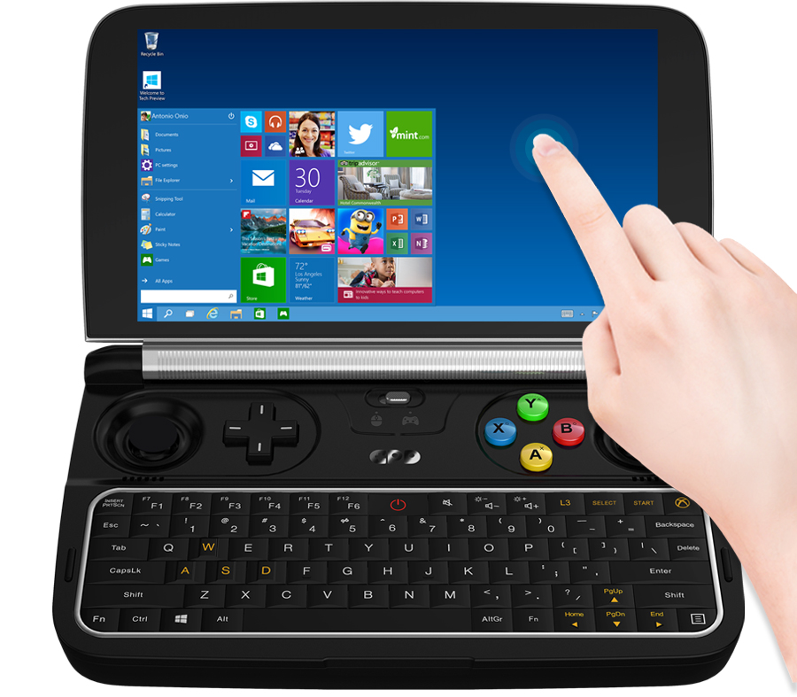 Original Pocket Mini Tablet PC Windows 10 Home GPD WIN 2 WIN2 6 Inch Handheld Ga