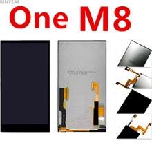Оригинальный черный binyeae для HTC One M8 ЖК-дисплей m8d m8t m8w ЖК-экран сенсорный экран Ассамблея Дисплей сенсорный экран + дигитайзер сборки