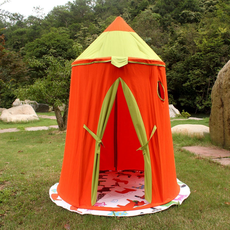 Children's toy game tent Castle shape to give children the best gift four styles keys to the castle
