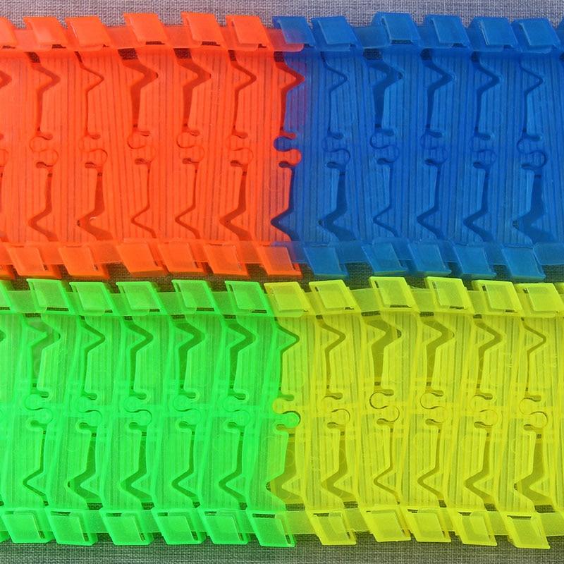 Светящийся гоночный трек изгиб Flex вспышка в темноте сборки гибкий игрушечных автомобилей/165/220/240 шт светящийся гоночный трек Набор DIY головоломки игрушки - Цвет: 56 track