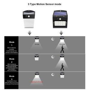Image 5 - Sensore PIR Prato Inglese HA CONDOTTO LA Lampada A Energia Solare Della Luce Della Parete del Sensore di Movimento del Rivelatore Intelligente di Controllo On Off Luz Solare Giardino Esterno di sicurezza