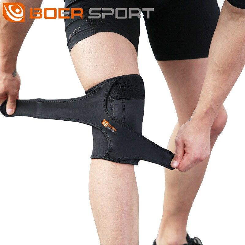 1 Pcs Knee Brace Support Sports Safety Knee Pads Arthritis Orthopedic Splint Knee Joint Leg Compression Sleeve Tennis Kneepad