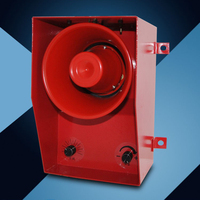 TGSG 06D DC AC12V 380V Metal Buzzer 130dB Alarm For Passenger Car Ship Industrial Crane Warehouse