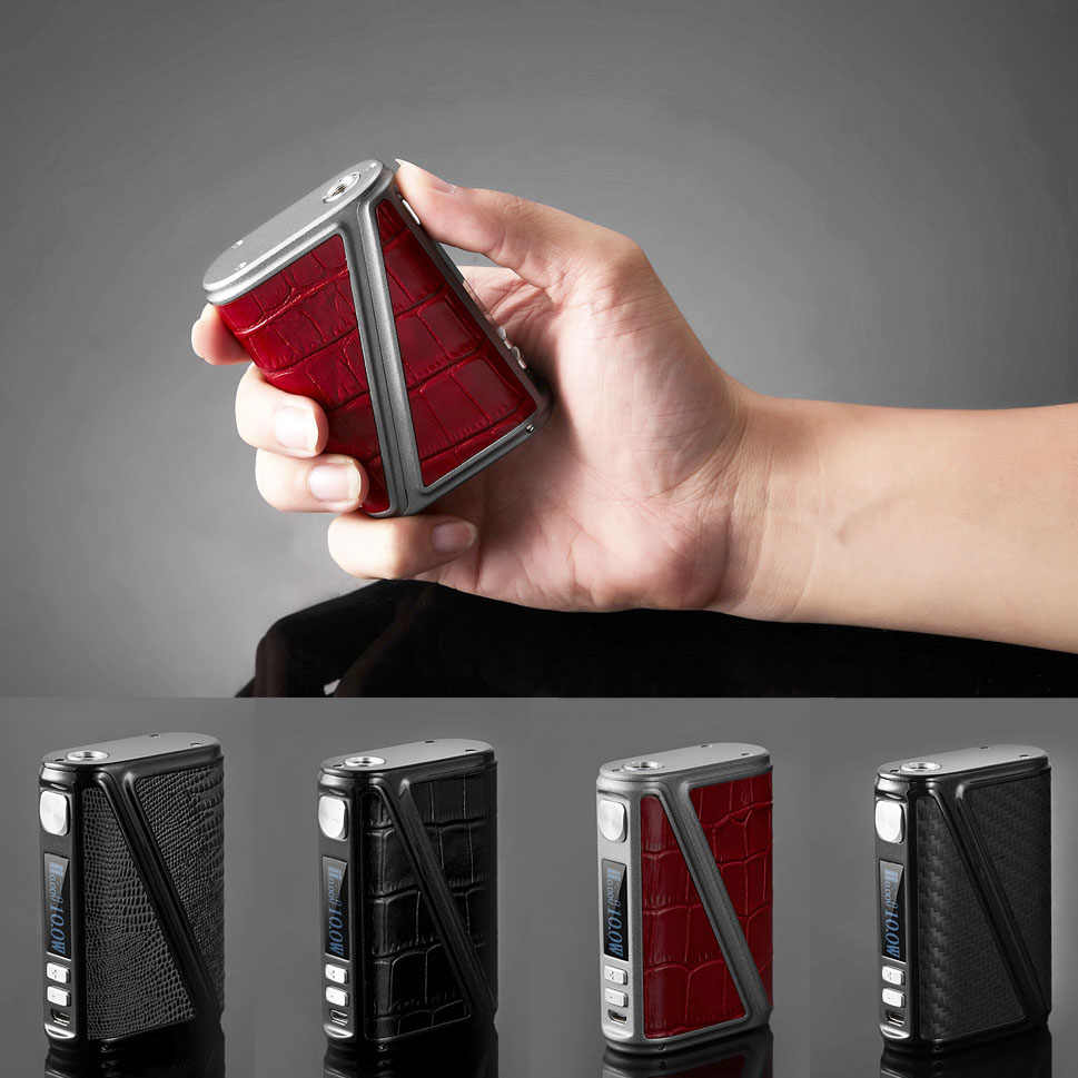 Clearance SALE Warlock Z BOX 233W TC Box Mod Electronic Cigarette Mod Box Temperature Control Big Power Huge Vapor Mod
