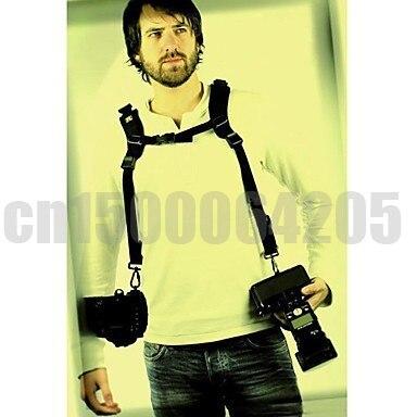 Мягкий Быстрый двойной ремень для камеры на плечо для DSLR камеры CANON 5D2 5D3 5D4 60D NIKON D7000 D3100 D3200 D5300