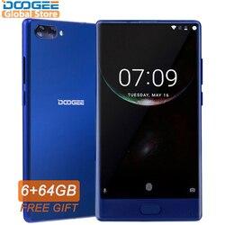 DOOGEE MIX Original Smartphone Android 7.0 Dual Cameras 5.5Inch MTK Helio Octa Core 6GB+64GB LTE 4G mobile phone 3380mAh P25