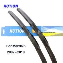 Windshield front hybrid wiper blade for Mazda 6 natural rubber windscreen wiper refill car accessories 2004 2005 2006 2007 2014 partsworld wiper blade for citroen c4 accessories 2004 2005 2006 2007 2008 2009 2010 natural rubber