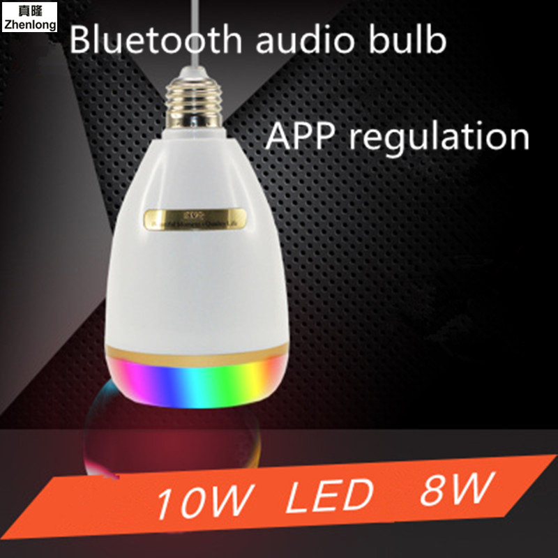 E27 Smart RGB RGBW Wireless Bluetooth Speaker Bulb Music Playing Dimmable LED Bulb Light Lamp APP Control Home Music Lights smuxi e27 led rgb wireless bluetooth speaker music smart light bulb 15w playing lamp remote control decor for ios android