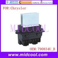 Nuevo Módulo de Ventilador Blower Motor Resistor Regulador uso OE NO. 790834U_B para Chrysler Pacifica