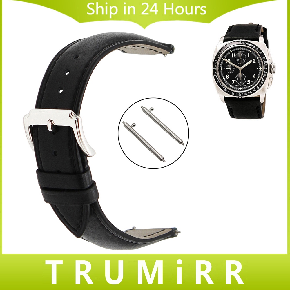 20mm 22mm Quick Release Watch Band for Luminox Men Women 1st Layer Genuine Leather Watch Band Wrist Strap Bracelet Black Brown luminox strap fn 3950 36q black orange