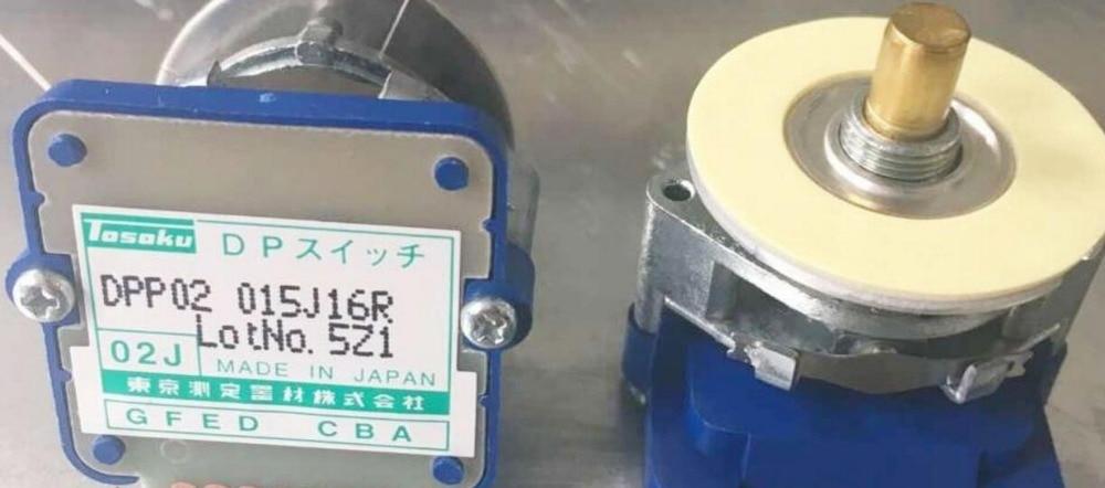 digital Encoding rate switch DPP02 015J16R 02J Original TOSOKU Band Switch digital encoding rate switch dpp03 020h20rcb 03h original tosoku band switch