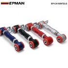 New High Quality RACING REAR ADJUSTABLE CAMBER ARMS KIT FOR 88-01 Honda CIVIC EP-CA1029TZLG