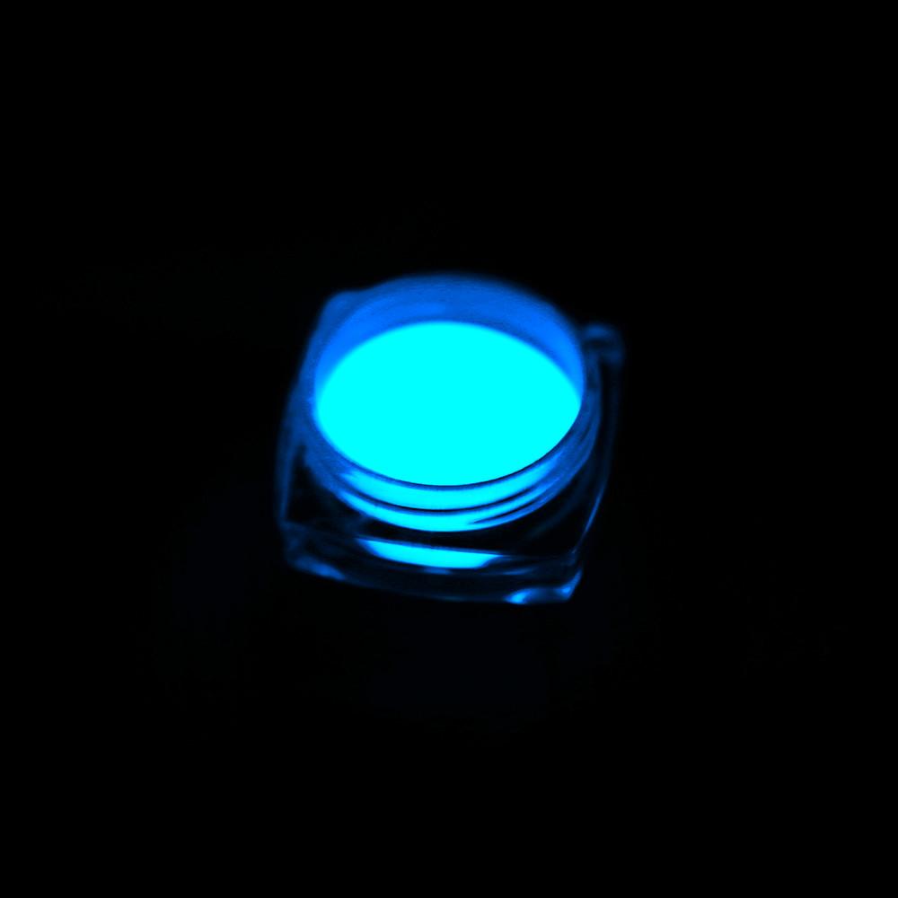 1 Box Neon Phosphor Powder Nail Glitter Powder 10 Colors Dust Luminous Pigment Fluorescent Powder Nail Glitters Glow in the Dark 22