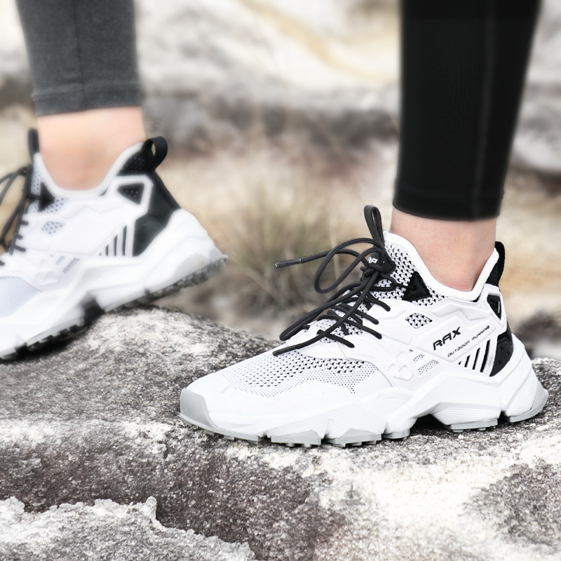 Rax Men Running Shoes Lightweight 2019 New Style Breathable Gym Running Shoes Outdoor Sports Sneakers for