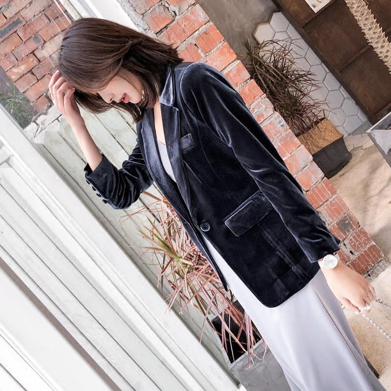 Women Blazer For Office Slim Fit Jacket 2019 Spring Winter Elegant Fashion Office Lady Business Blazer Women Suit Female Outwear