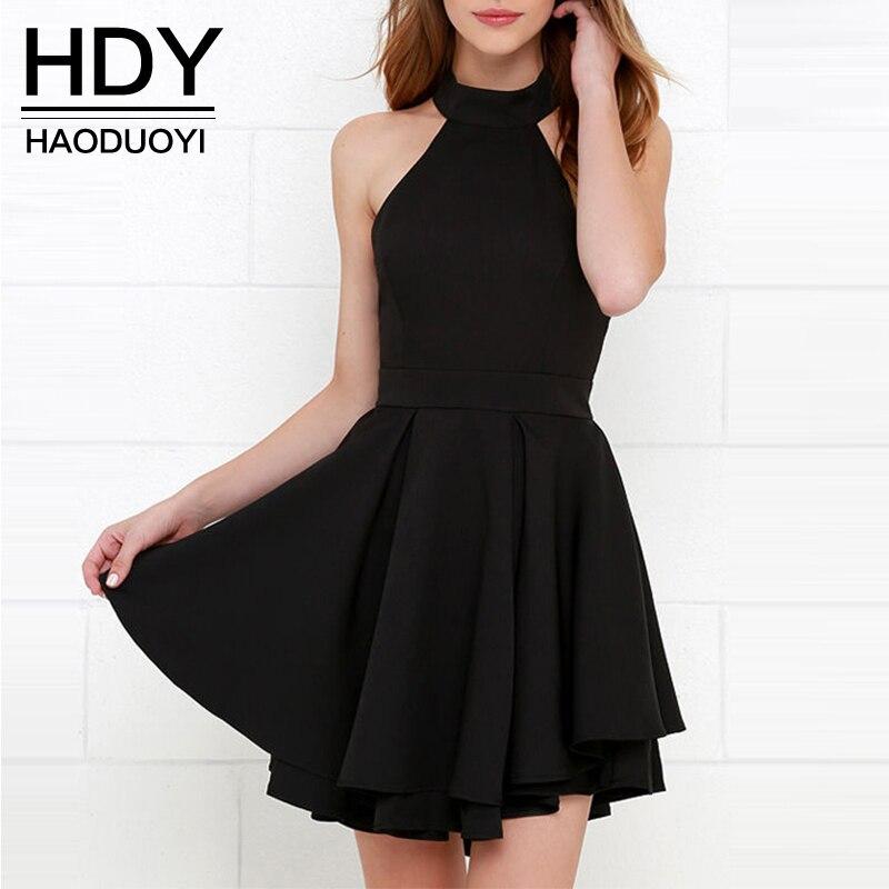 Женское платье HDY Haoduoyi 2017 /line