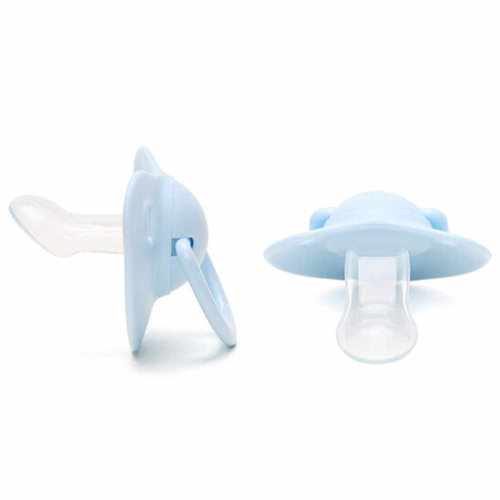Siliconen Pasgeboren Kid Baby Orthodontische Dummy Fopspeen Speen Nipple Fopspeen 24.5cm Babyfopspeen Clip Houder Drop-resistente Riem
