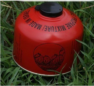 US $17 5 |Hot outdoor camping stove fuel in the fuel tank flat red camping  butane gas canister canned-in Outdoor Stoves from Sports & Entertainment on