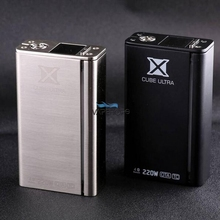 2pcs 100% Original SMOK Xcube Ultra 220W TC Mod Electronic Cigarette Vape 200W OTA Box Mod