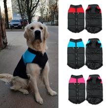 Fashion Pet Dog Clothes Winter Coat Waterproof Warm Big Large Coats Jackets Medium Small S-5XL