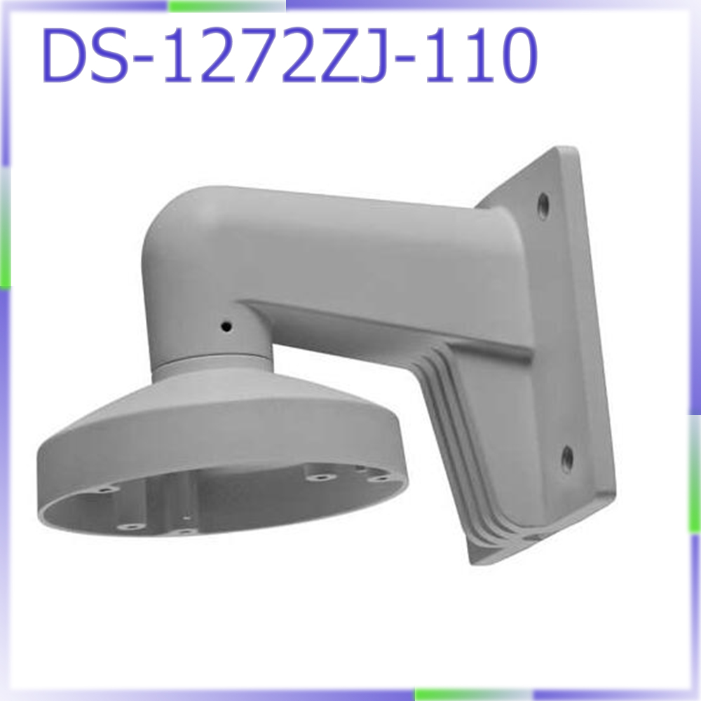 In stock DS-1272ZJ-110 cctv camera wall mount bracket for mini dome camera DS-2CD2132F-IWS DS-2CD2142FWD-IWS cctv bracket ds 1212zj indoor outdoor wall mount bracket suit for bullet camera s bracket ip camera bracket
