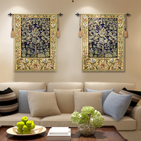 Tapestry painting wall tapestry box decorative painting sofa Trees Belgium Home Decor Mandala Tapestry Wall Hanging &20