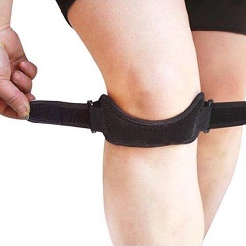 Регулируемый Спорт Тренажерный зал коленной сухожилия колена Поддержка Брейс ремень протектор