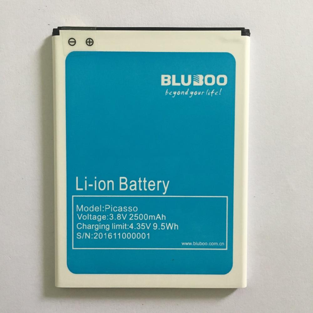100% Originale Bluboo Picasso 4G Sostituzione Della Batteria 2500 mAh Batteria di Back up Per Bluboo Picasso 4G Del Telefono Mobile