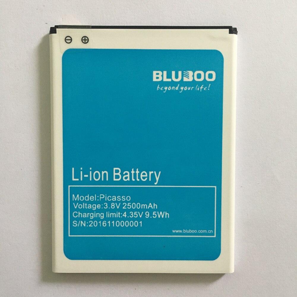 100% Original Bluboo Picasso 4G Batterie de Remplacement 2500 mAh Batterie de Secours Pour Bluboo Picasso 4G Mobile Téléphone