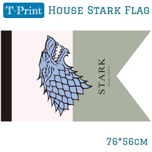 Game Of Thrones House Stark Banner Winter is Coming Flag 76*56cm