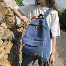 High quality canvas Women Backpack Female Large capacity student schoolbag for Teenage girls Travel Backpack Book Mochila women high quality ring backpack college schoolbag travel backpack for teenage girls boys large capacity anello bag