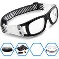 2017 ponosoon óculos esportivos de basquetebol dos homens do futebol do futebol desporto óculos de segurança óculos de proteção pode coincidir com lente míope