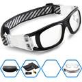 2017 ponosoon gafas deportivas para hombre de baloncesto fútbol fútbol deporte gafas gafas protectoras de seguridad puede coincidir lente miope